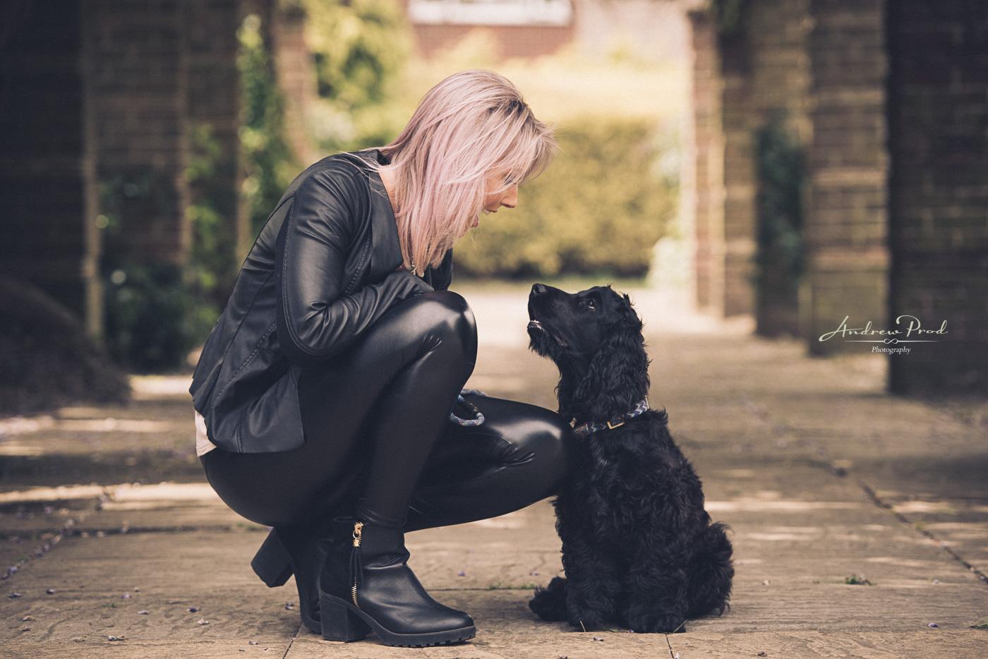 Dog photographer London