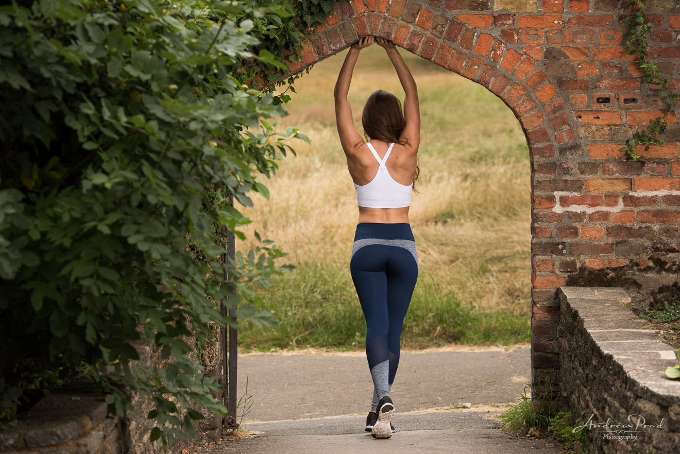 Fitness wear photoshoot