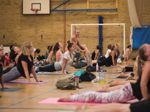 Yoga Event Photographer