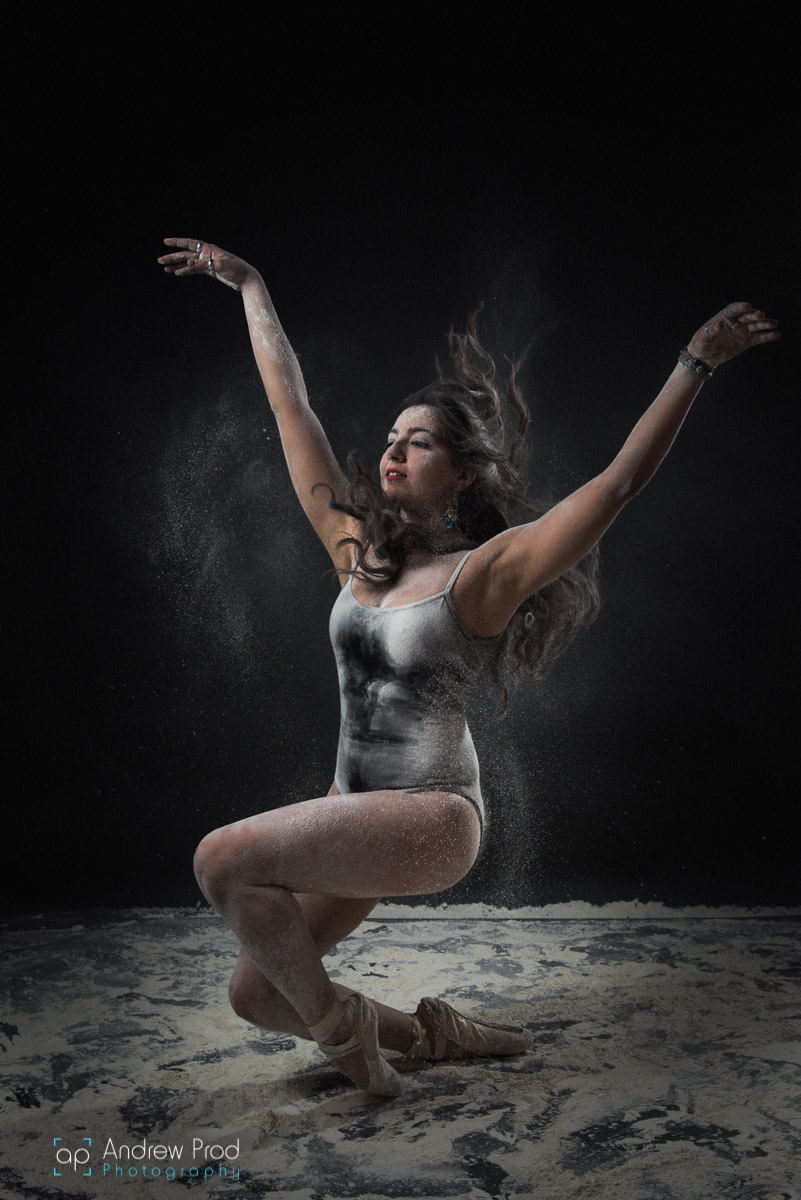 Ballerina flour photoshoot (2)