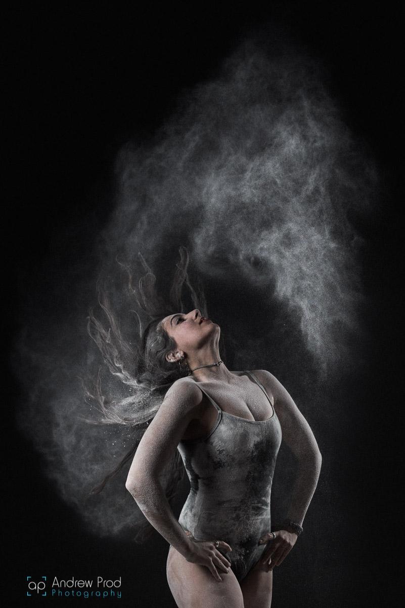 Dancer flour photography