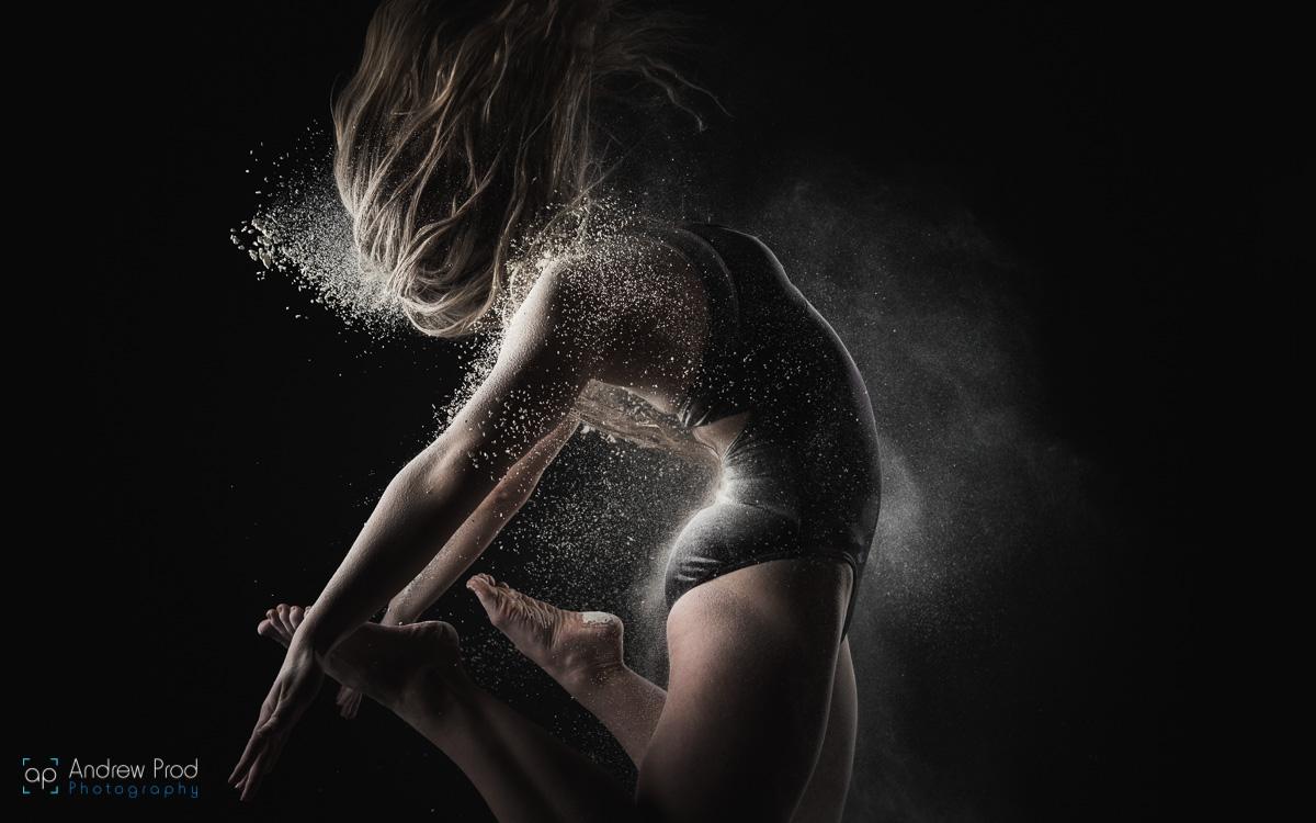 Flour photoshoot