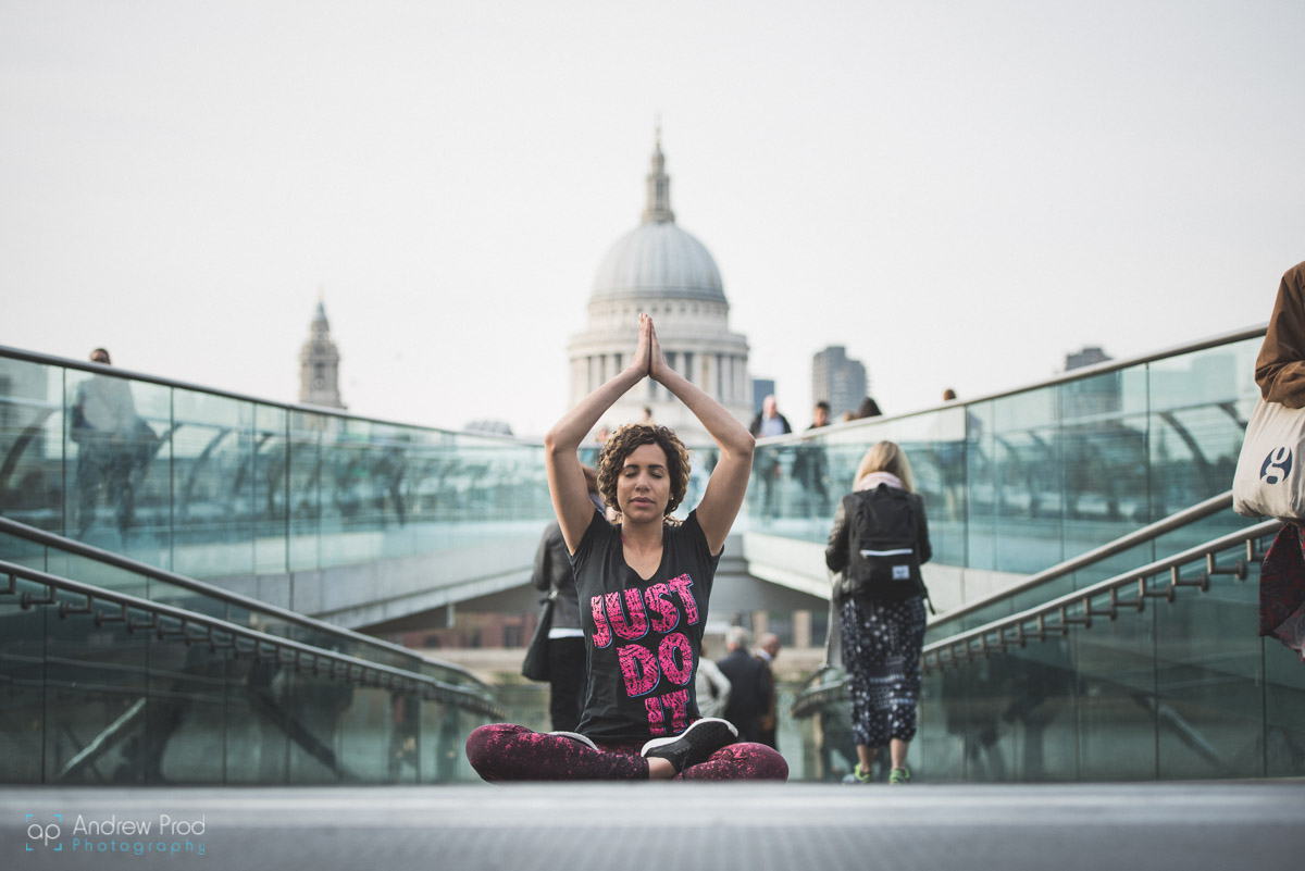London yoga photographer 2