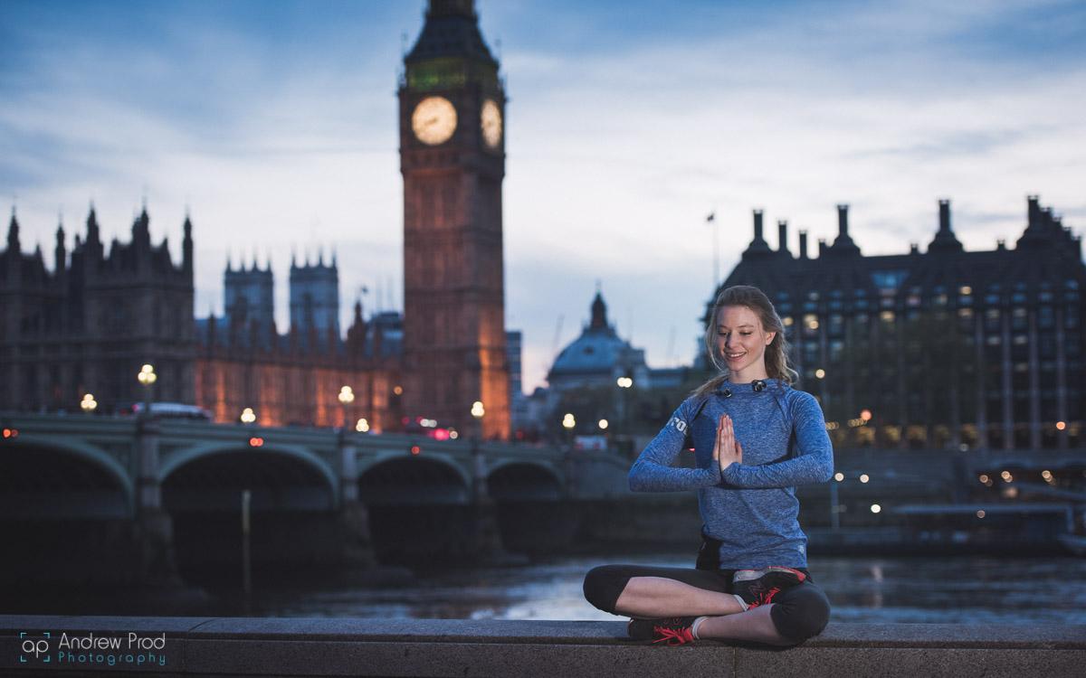 London yoga teacher