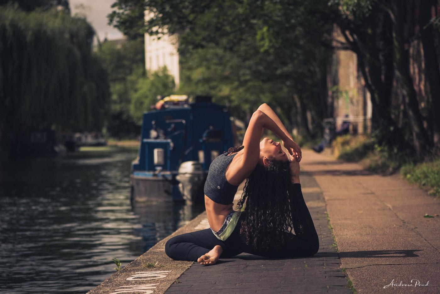 Yoga photographer london