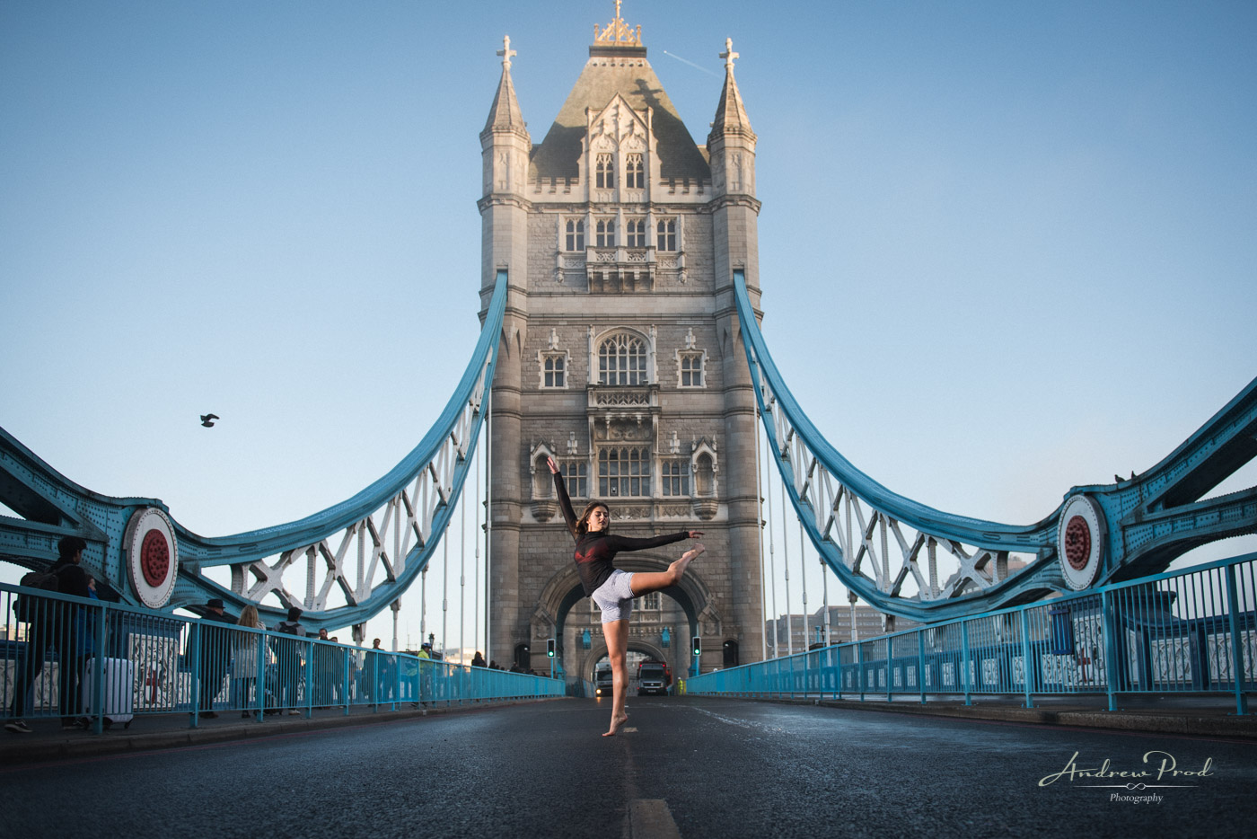 Dance portraits in London