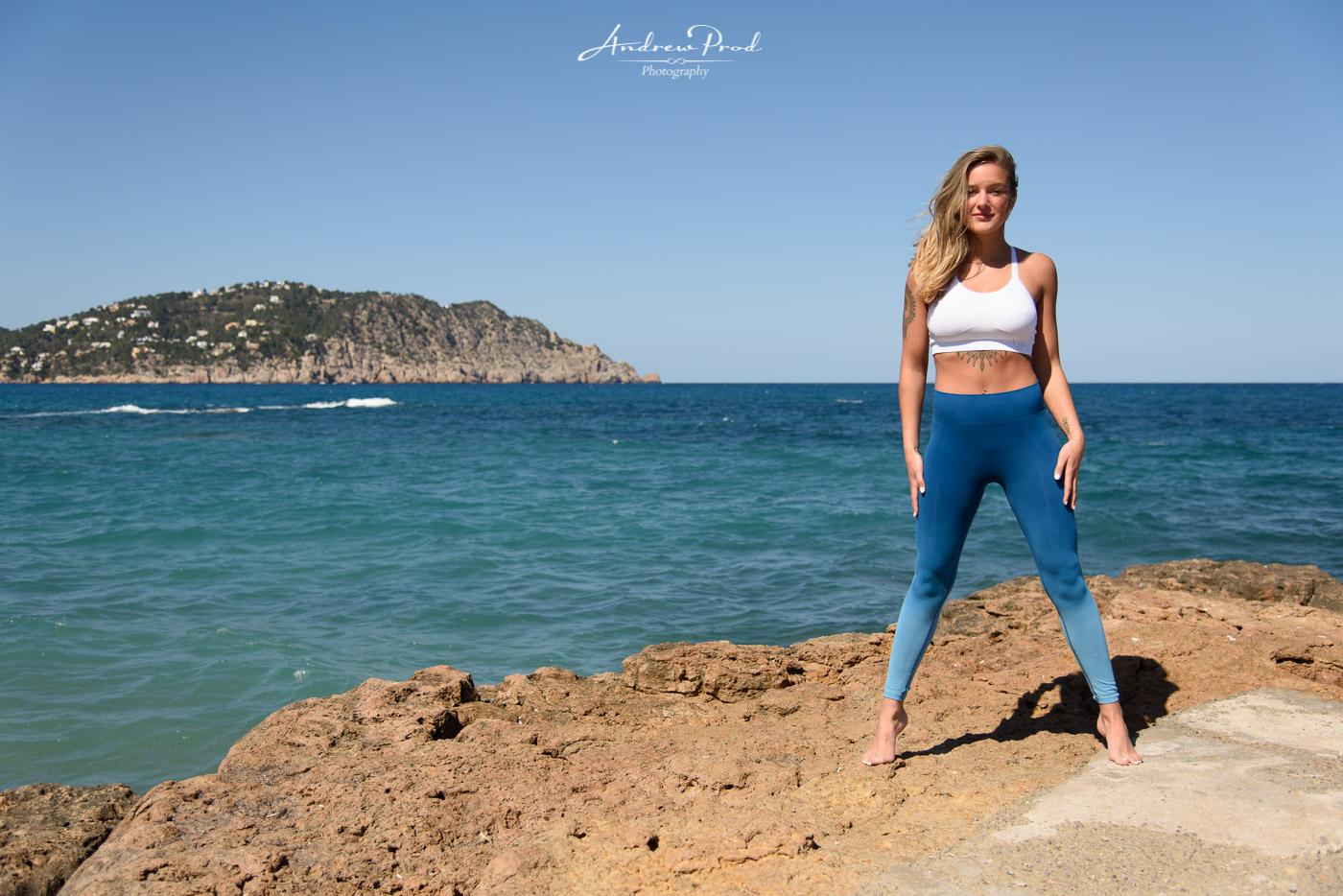 Ibiza beach photoshoot