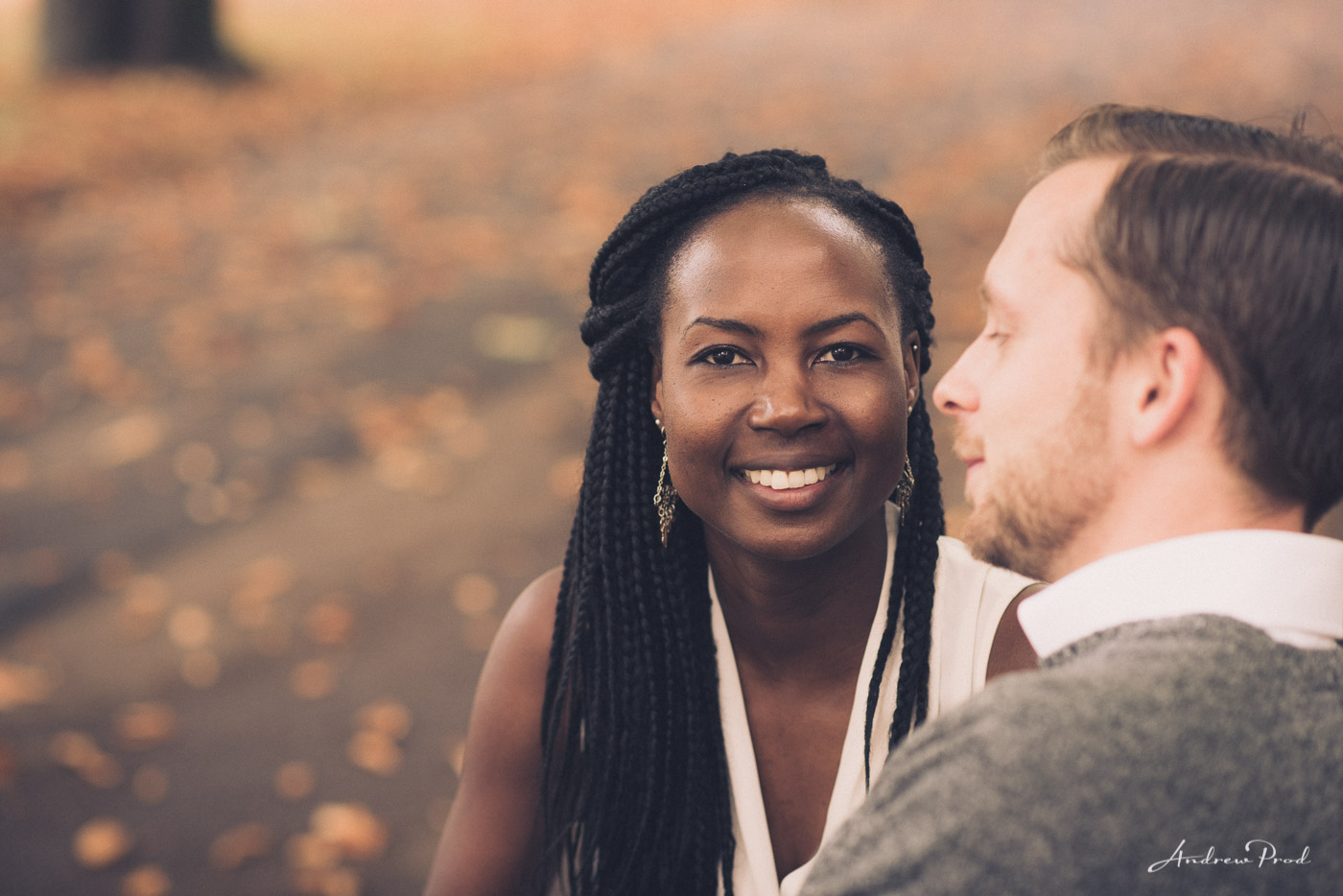 Couple engagement session