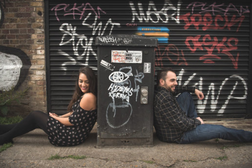 Camden Couple photoshoot