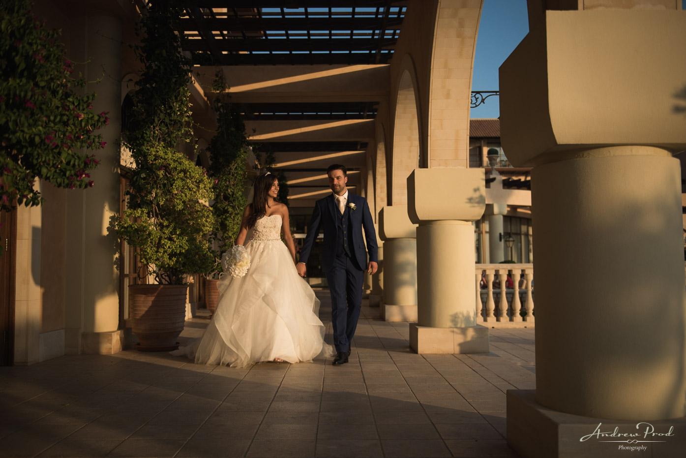 elysium paphos sunset wedding