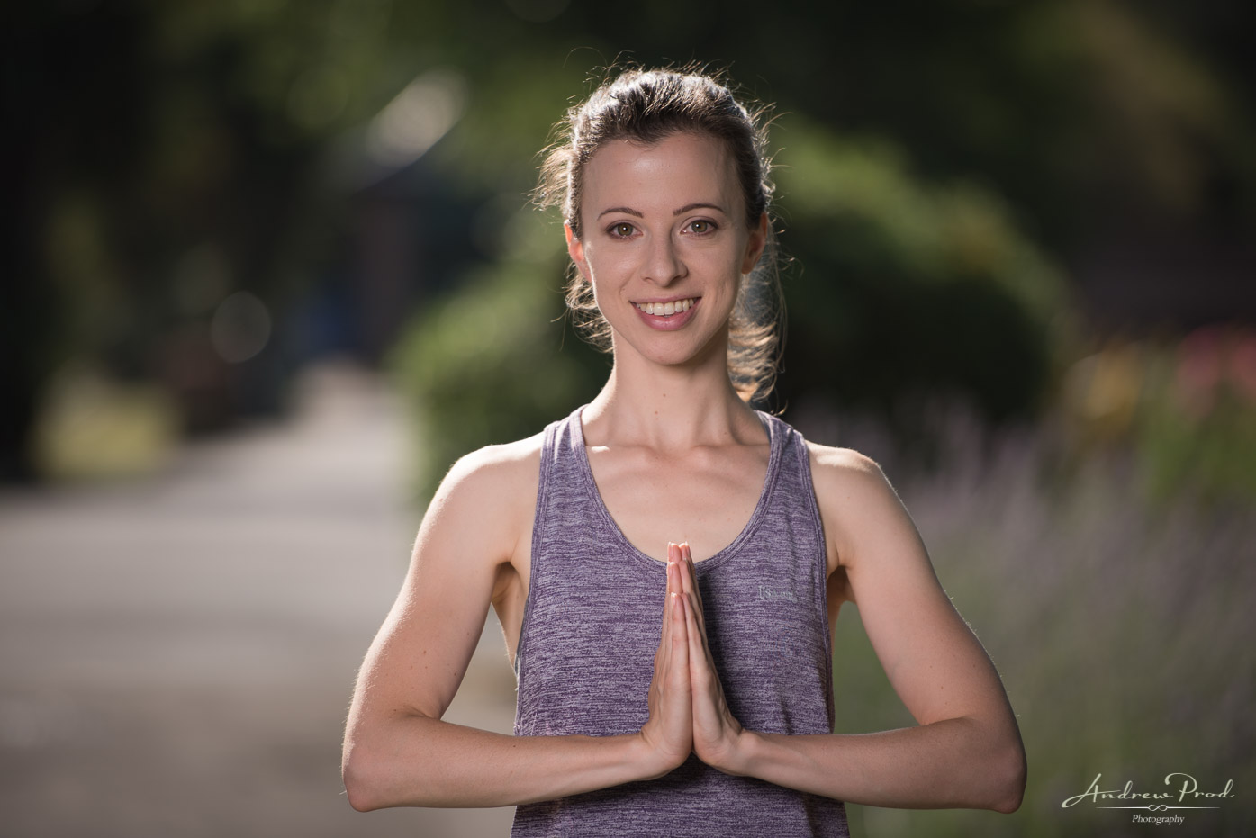 Yoga teacher headshots