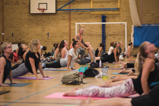 Yoga Event Photographer