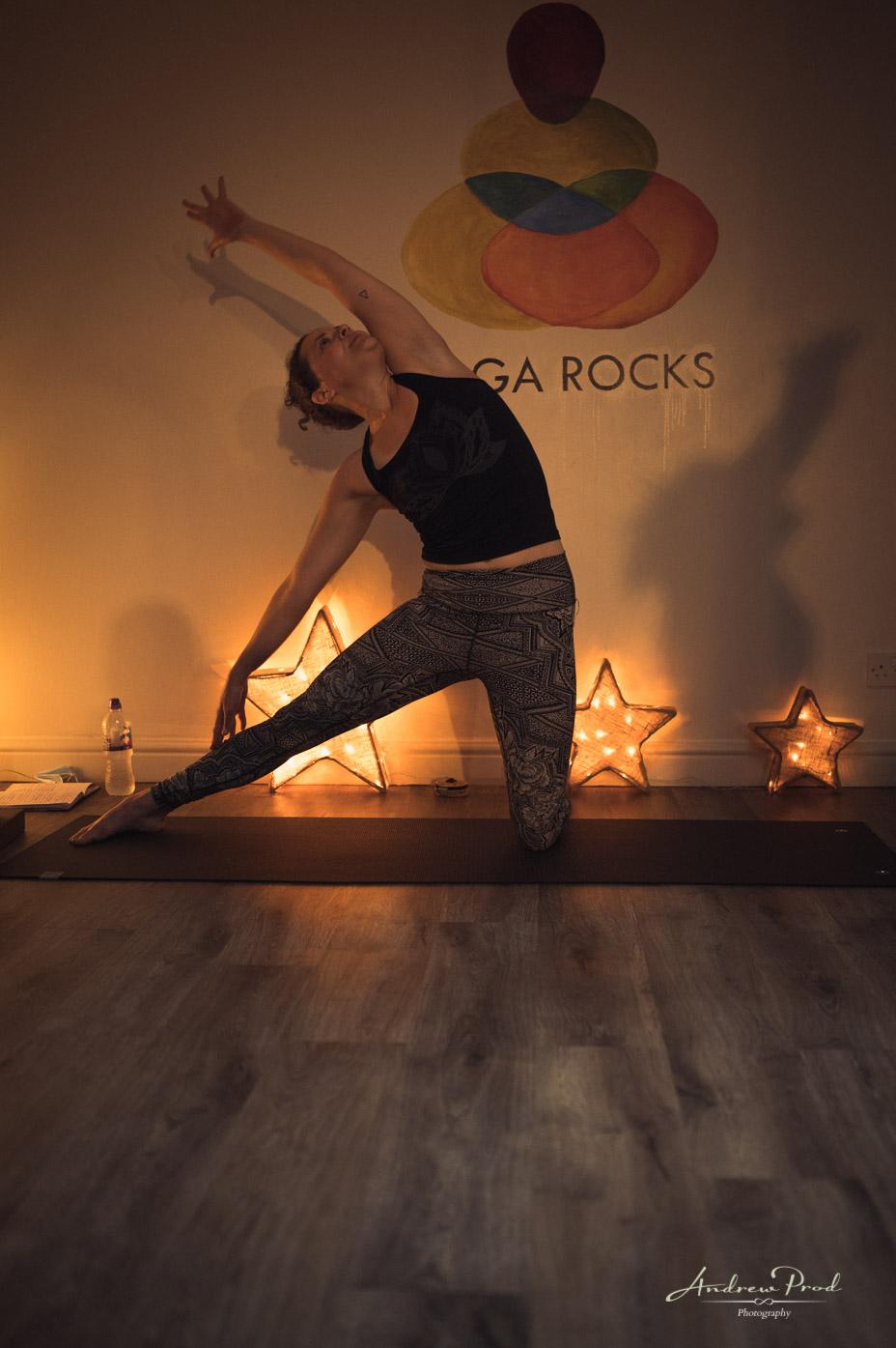 Yoga rocks studio