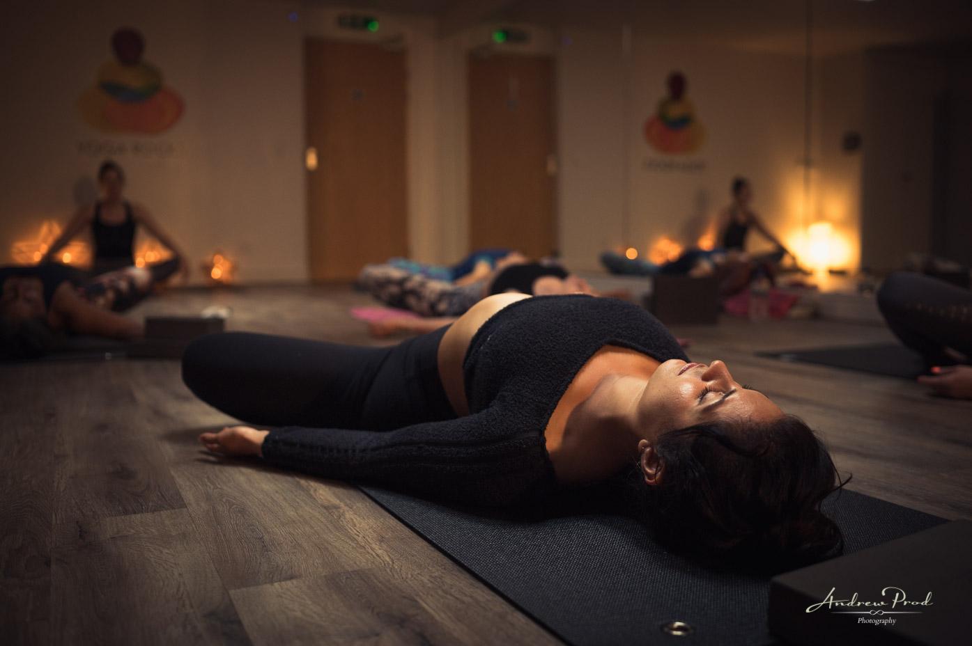 London Yoga Studio photographer