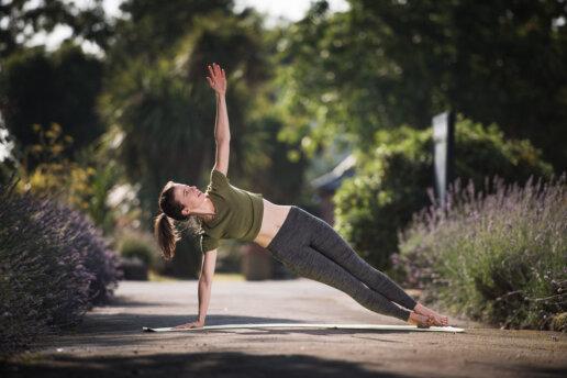 Outdoor yogi