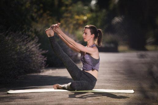 London yoga photoshoot